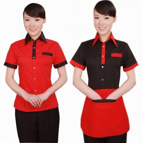 Dịch vụ in áo thun đồng phục quán ăn, nhà hàng