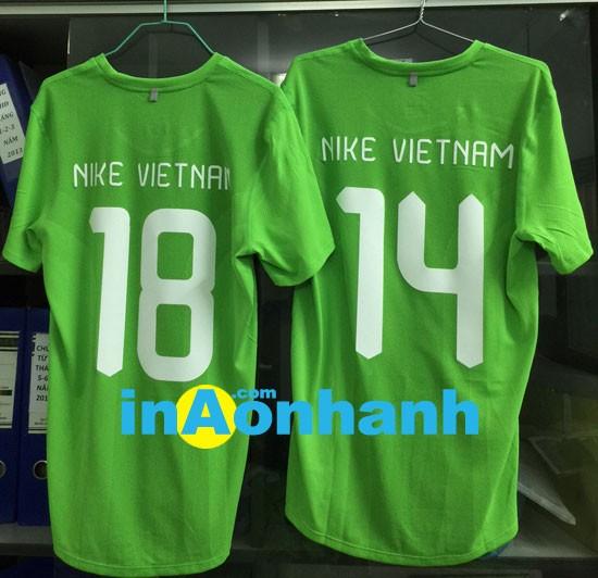 in áo đá banh lấy liền Công ty Nike Vietnam